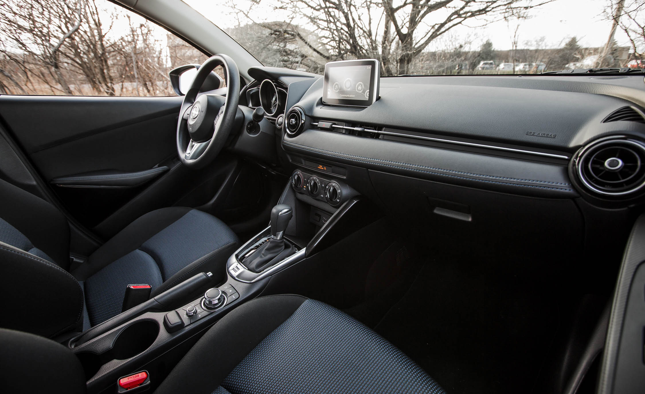 2016 Scion iA Interior Dashboard