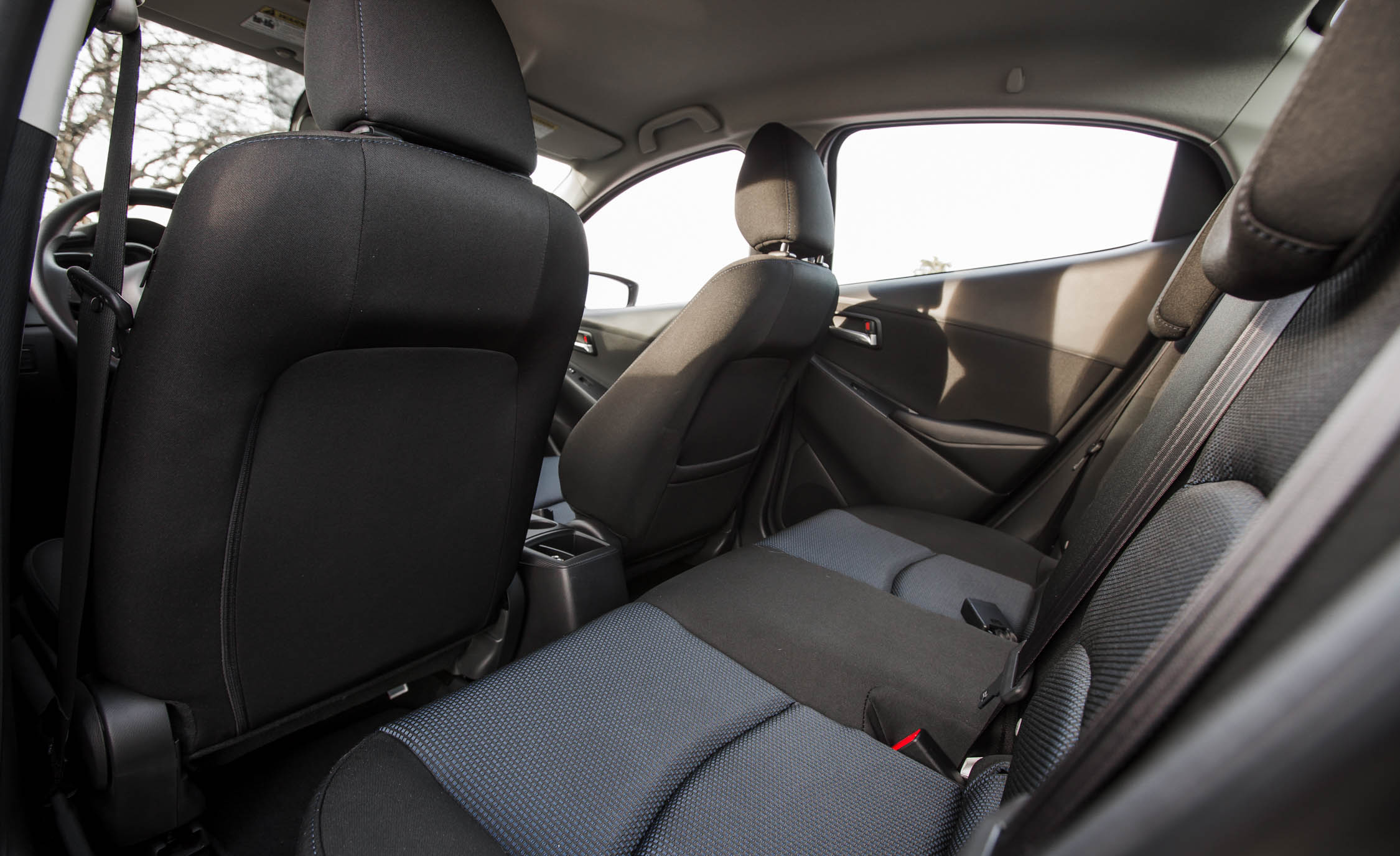 2016 Scion iA Interior Rear