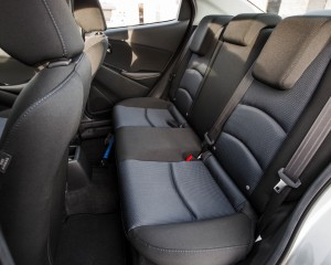 2016 Scion iA Interior Seats Rear