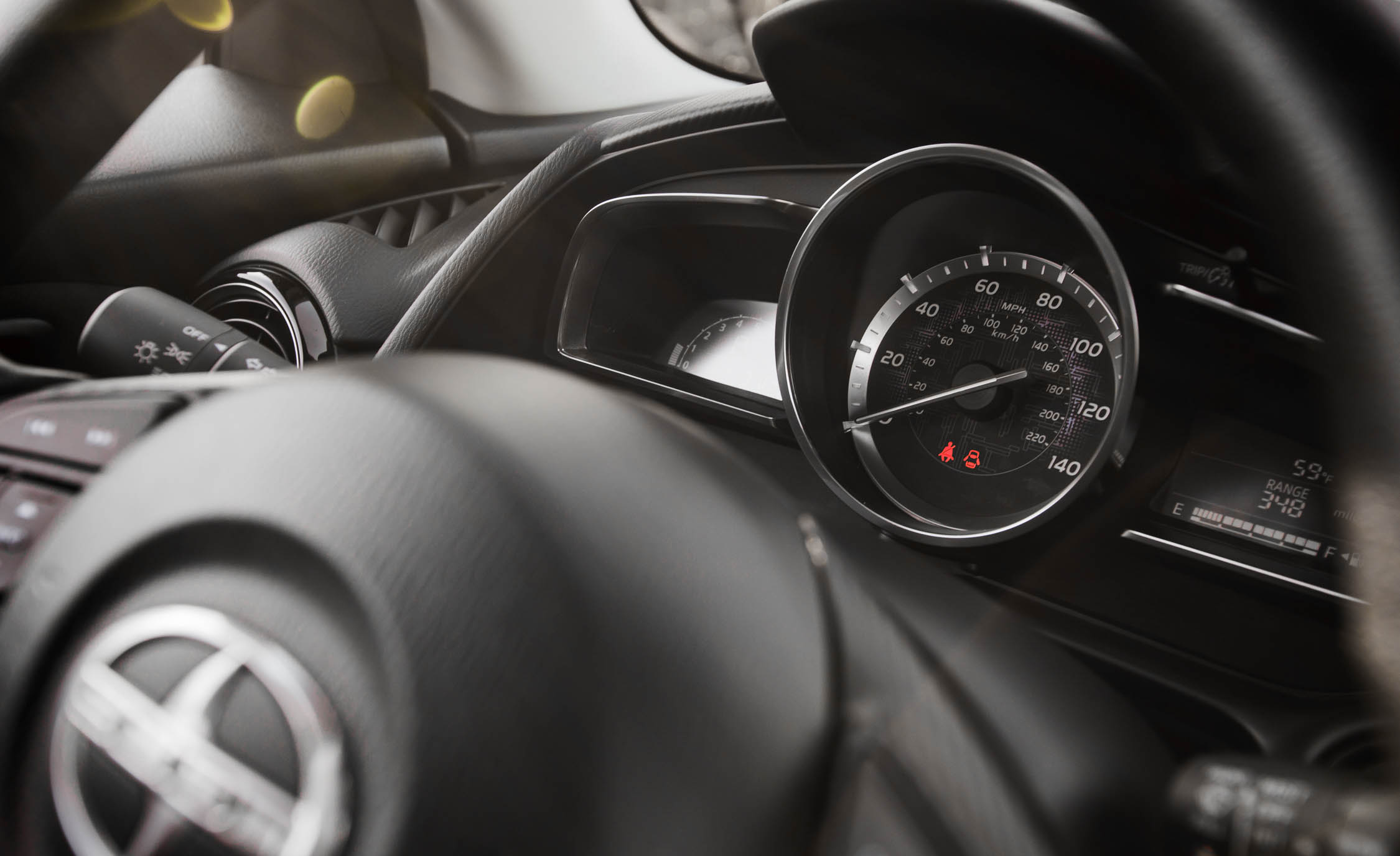 2016 Scion iA Interior Speedometer