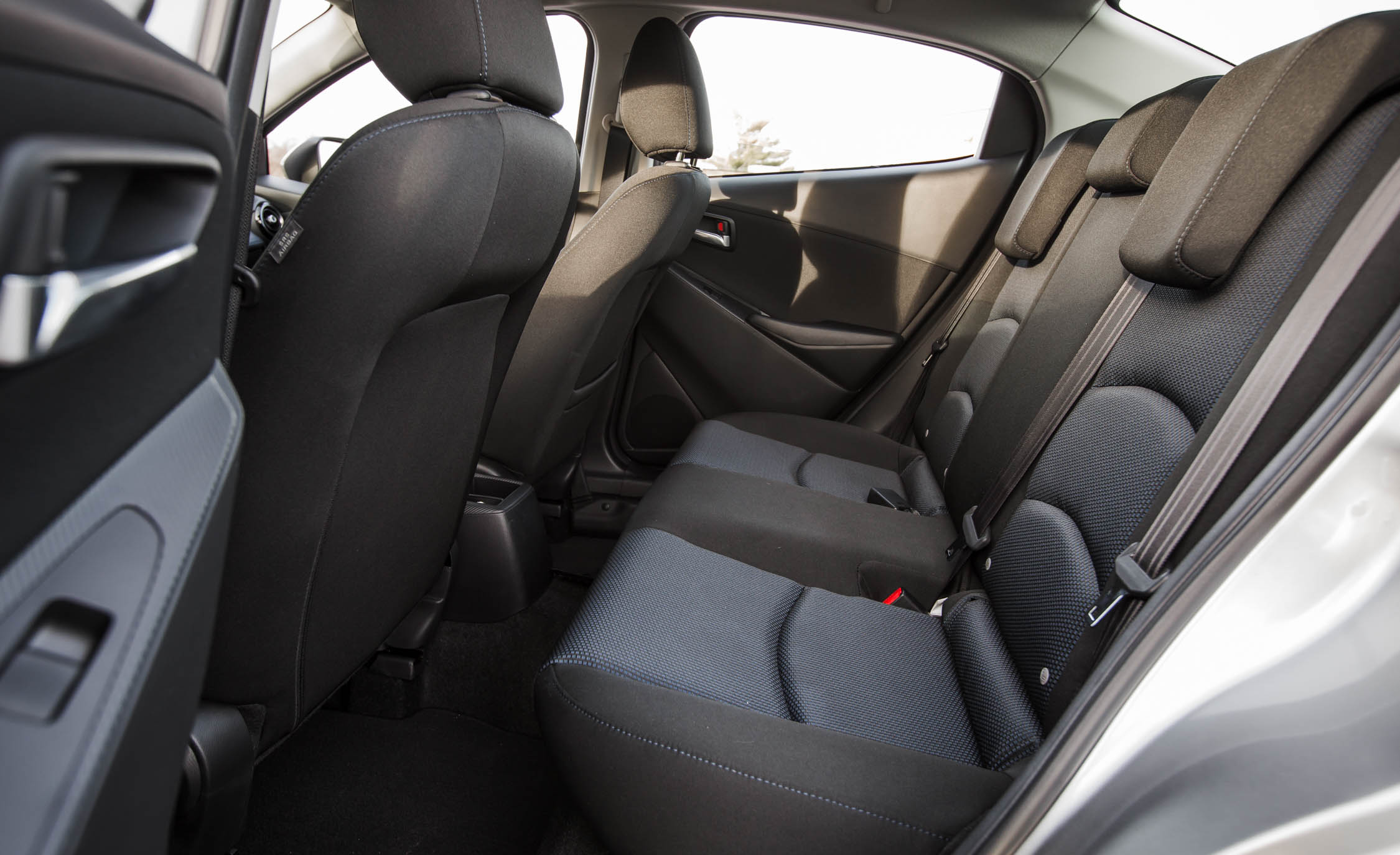2016 Scion iA Interior View Rear