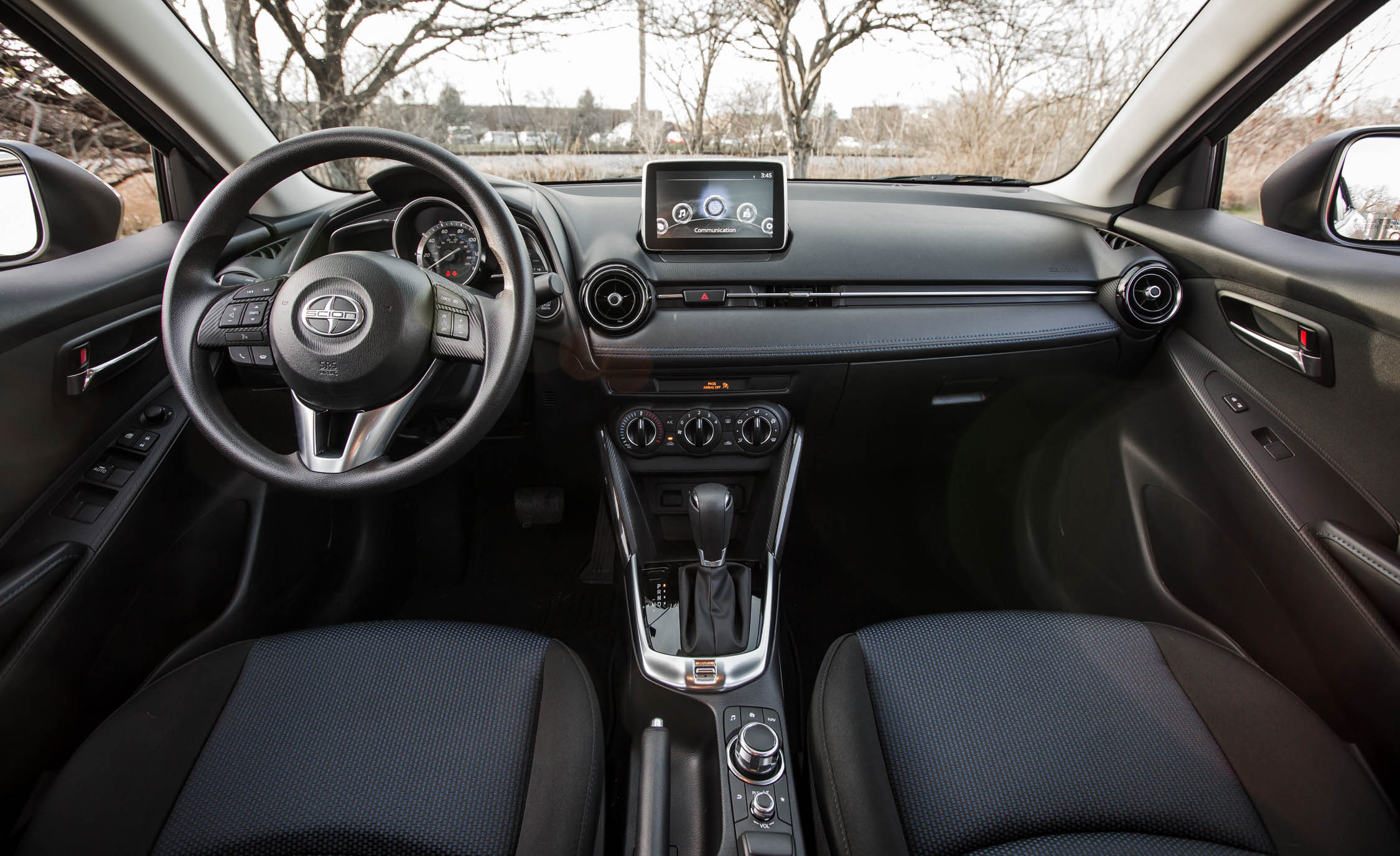 2016 Scion iA Interior