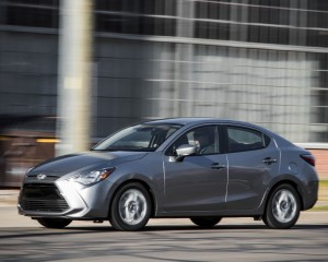 2016 Scion iA Test Front and Side View