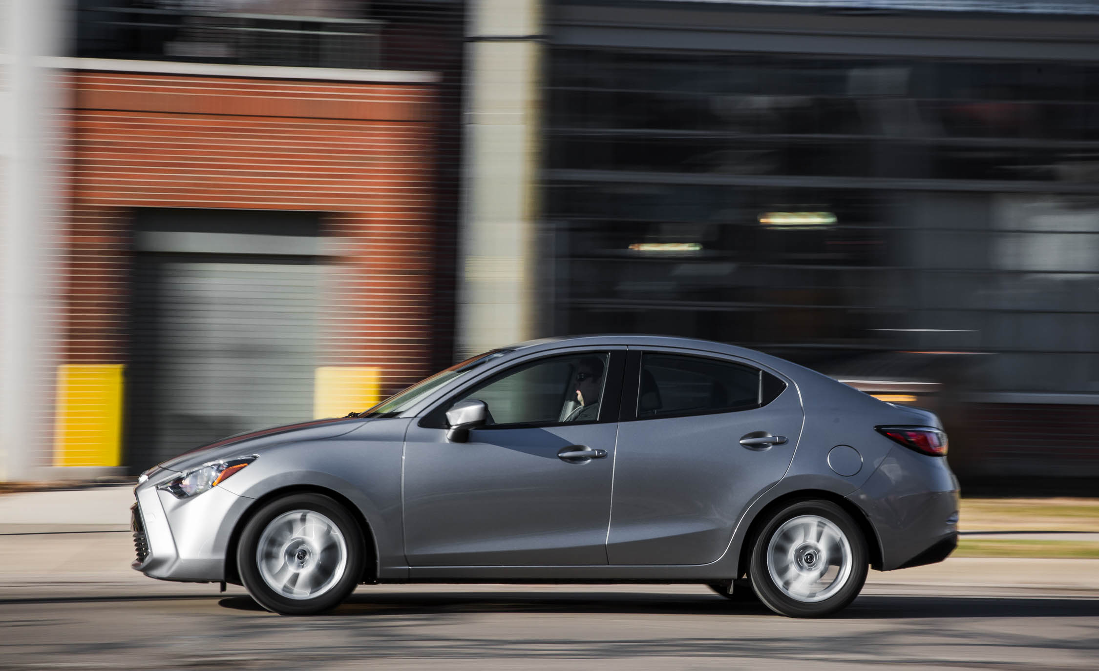 2016 Scion iA Test Side View