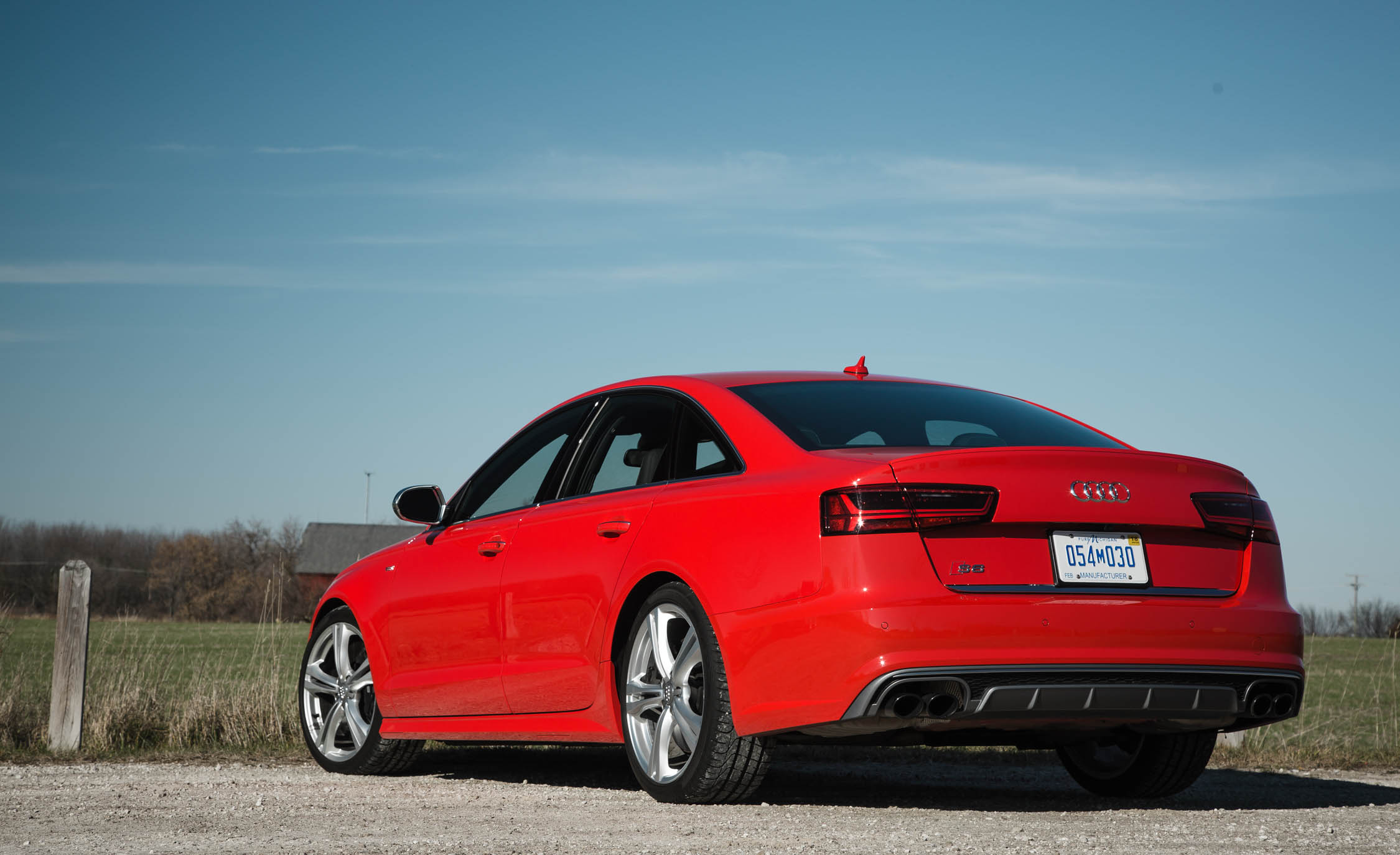 2016 Audi S6 Exterior Full Side and Rear