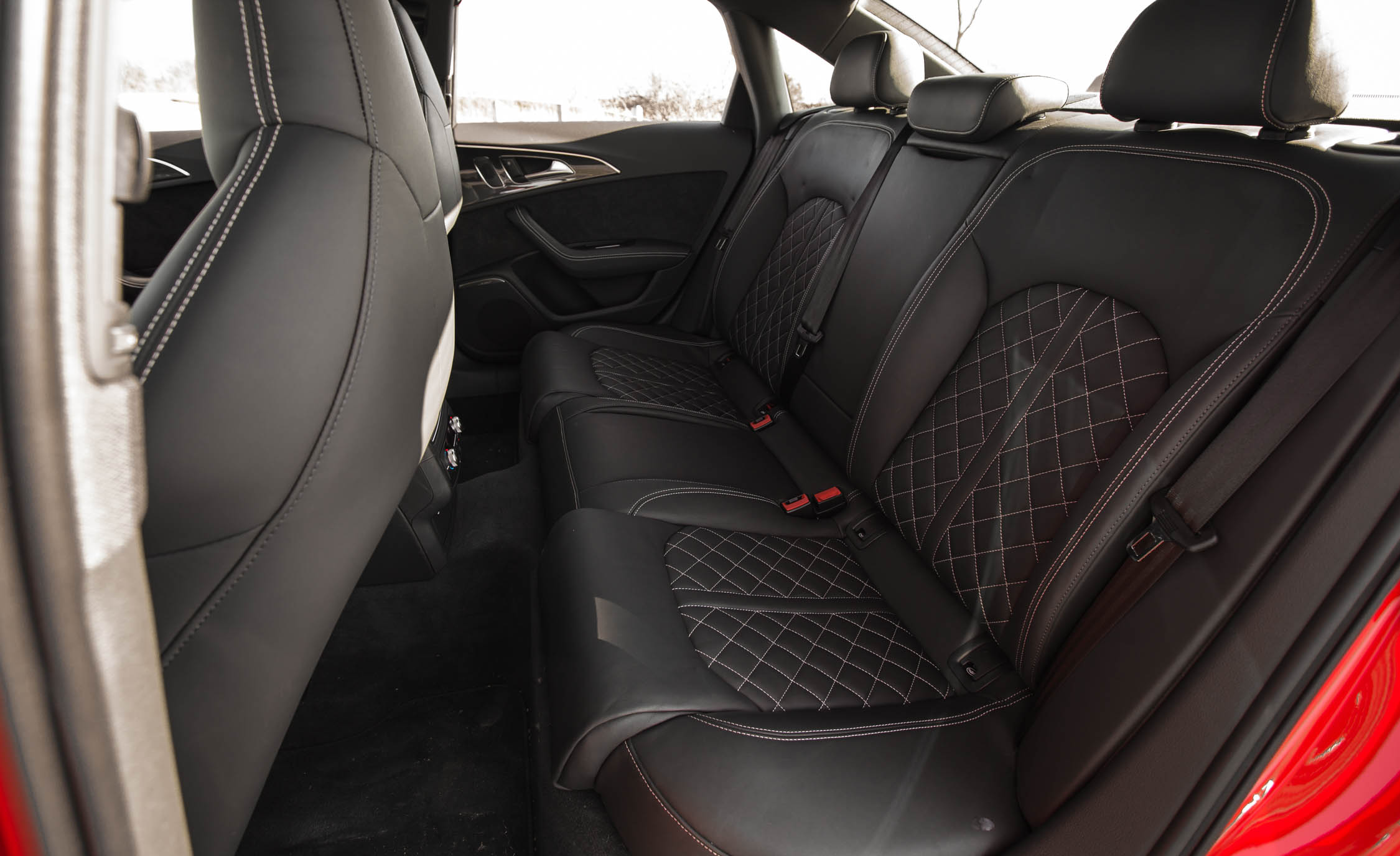 2016 Audi S6 Interior Seats Rear