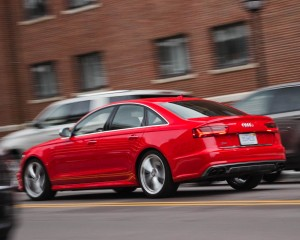 2016 Audi S6 Test Rear Side View
