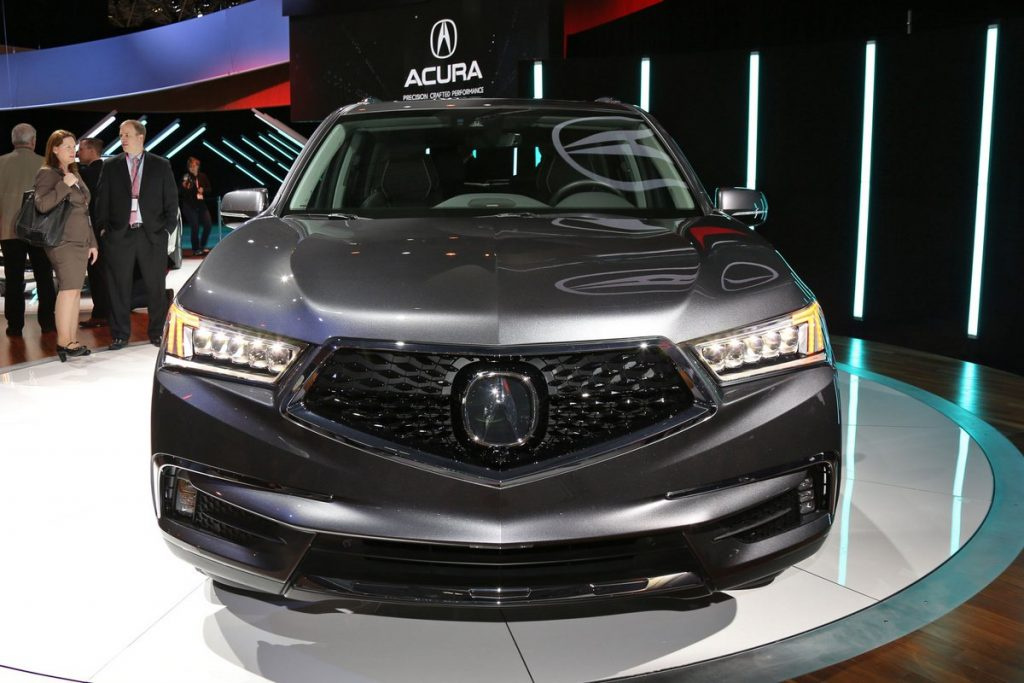 2017-Acura-MDX-SUV-front
