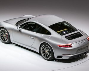 2017 Porsche 911 Carrera Above View