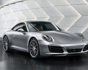 2017 Porsche 911 Carrera Front View