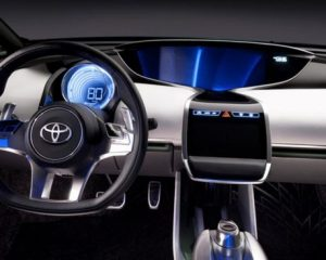 2017 Toyota Prius Prime Steering View