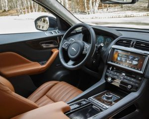 2017 Jaguar F-Pace SUV Interior View