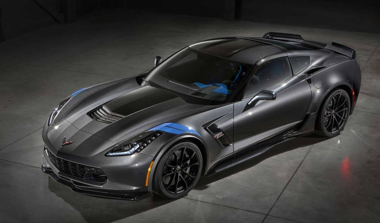 2017 Chevrolet Corvette Grand Sport Front Side View