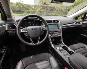 2017 Ford Fusion Hybrid Dashboard View