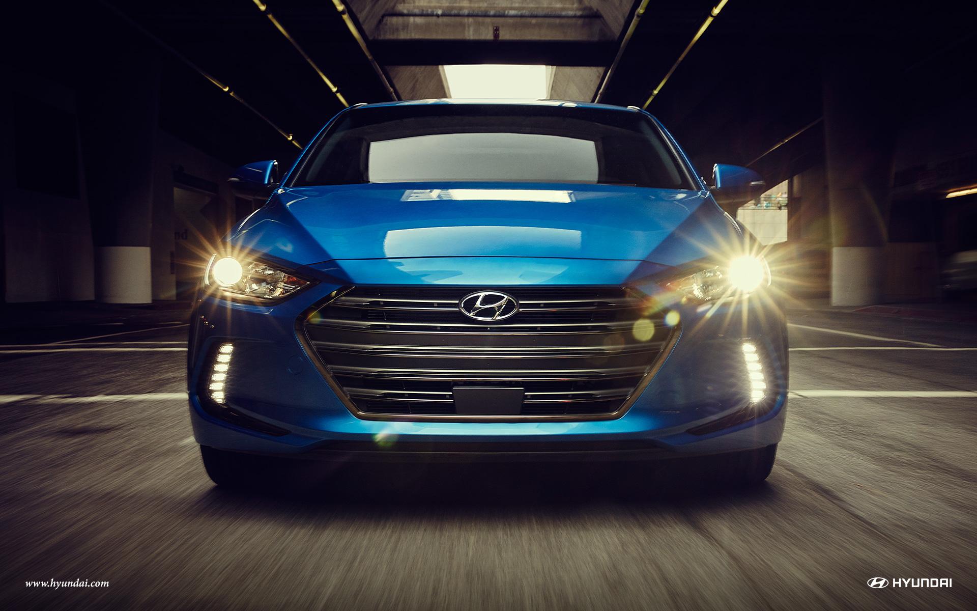 2017 Hyundai Elantra Front