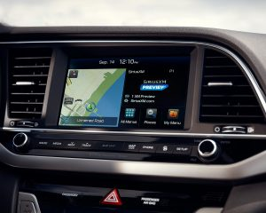 2017 Hyundai Elantra Touchscreen View