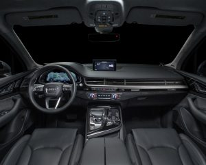 2017 Audi Q7 SUV Dashboard View