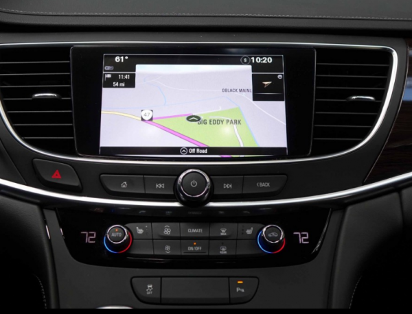 2017 buick lacrosse infotainment system