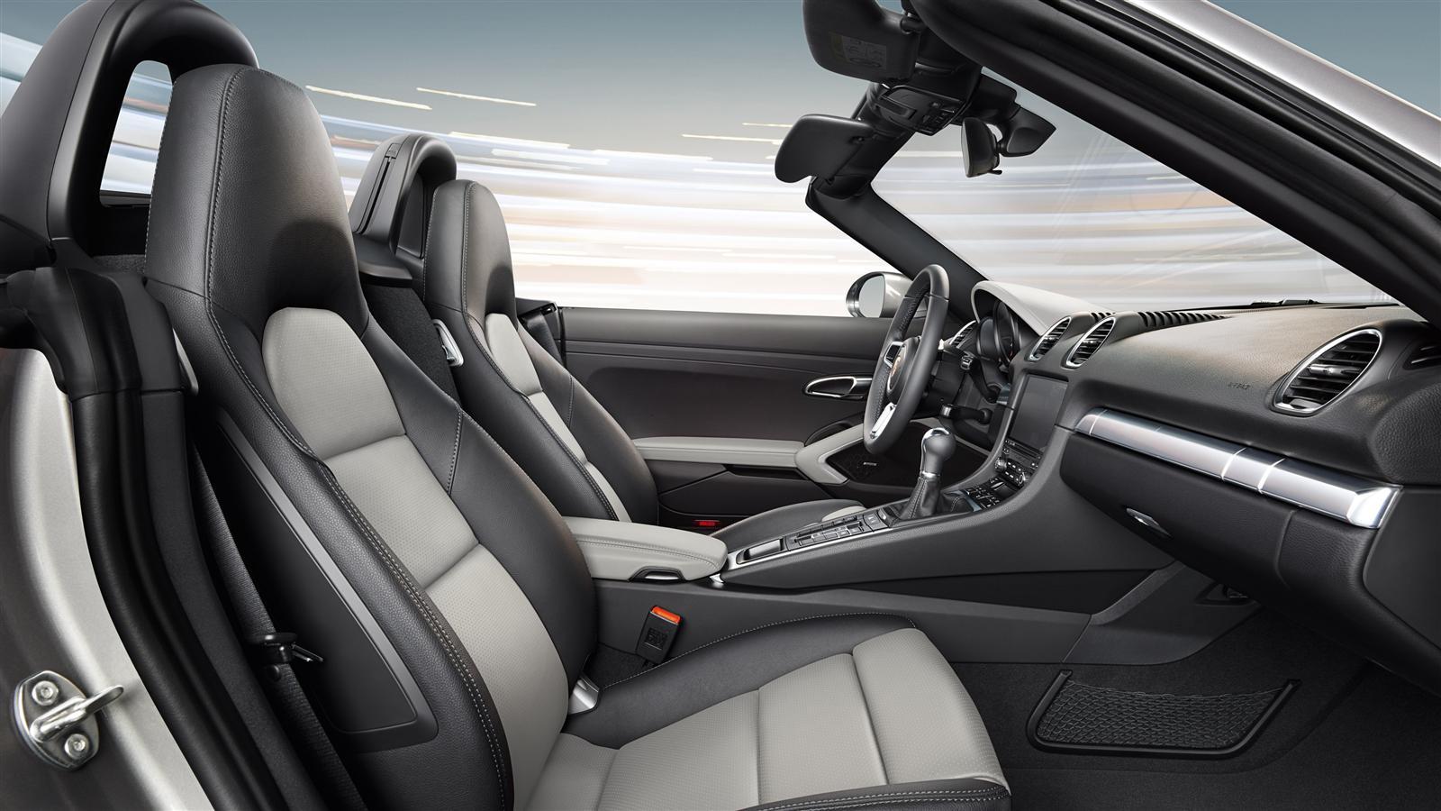2017 Porsche Boxster 718 Interior View