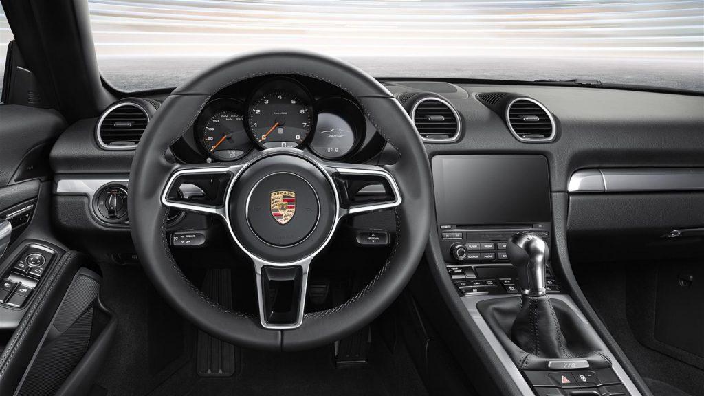 2017 Porsche Boxster 718 Steering