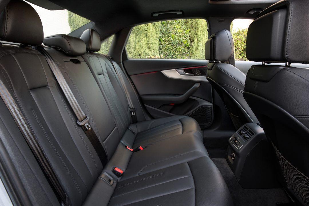 2017 Audi A4 Seats View