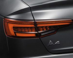 2017 Audi A4 Tail Light View