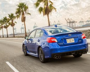 2017 Subaru WRX Rear View
