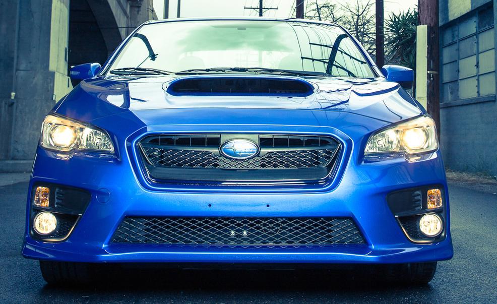2017 Subaru WRX Front