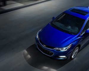 2017 Chevrolet Cruze Top View