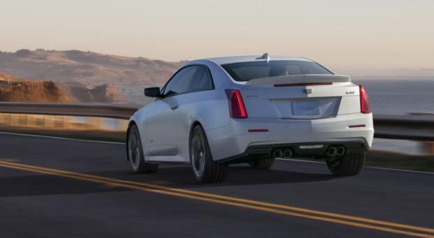 2017 Cadillac ATS-V Back