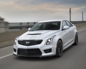 2017 Cadillac ATS V Front
