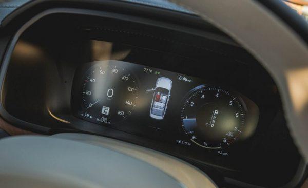 2017 Volvo S90 screen