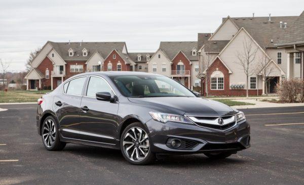2017 Acura ILX Front