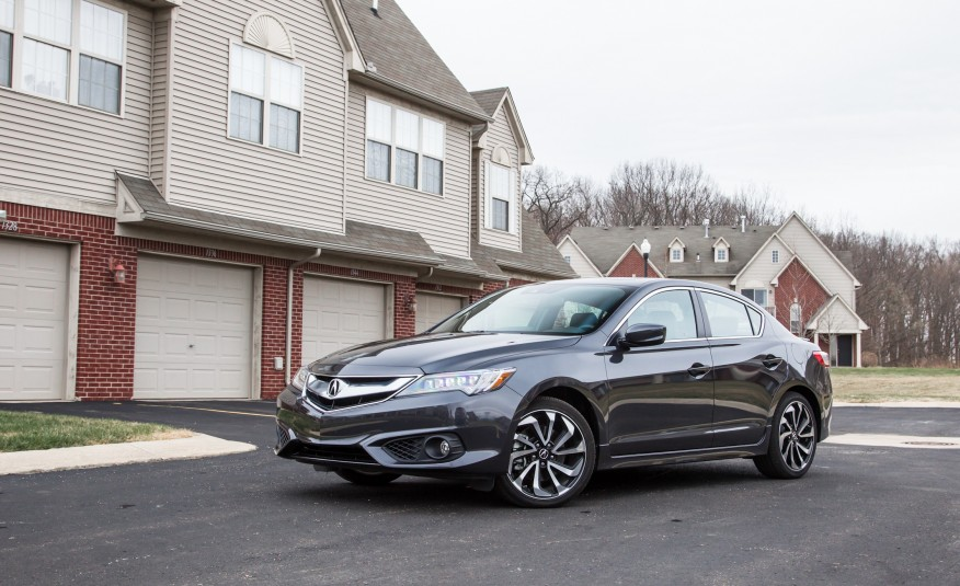 2017 Acura ILX Side View