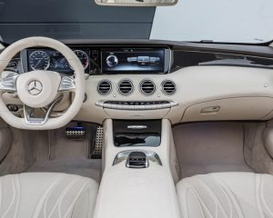 2017 Mercedes AMG S63 Cabriolet Interior View