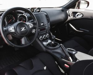 2017 Nissan 370Z Dashboard View