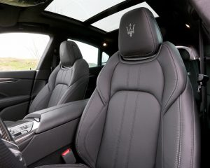 2017 Maserati Levante Seats View