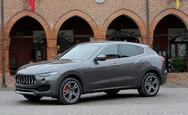 2017 Maserati Levante Side