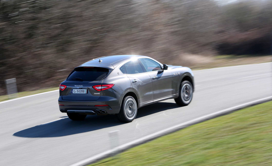 2017 Maserati Levante Rear Side View