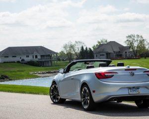 2017 Buick Cascada Rear View