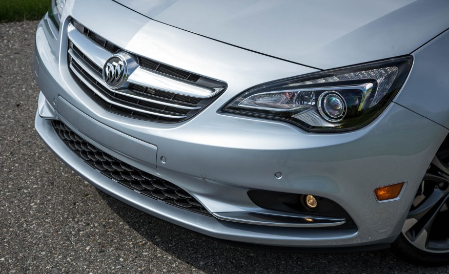 2017 Buick Cascada Headlights View