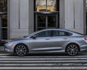 2017 Chrysler 200 Side View