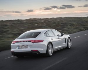 2018 Porsche Panamera 4 E Hybrid Back