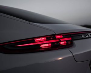 2018 Porsche Panamera 4 E Hybrid Rear Tail Lights View