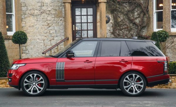 2017 Range Rover SVAutobiography review
