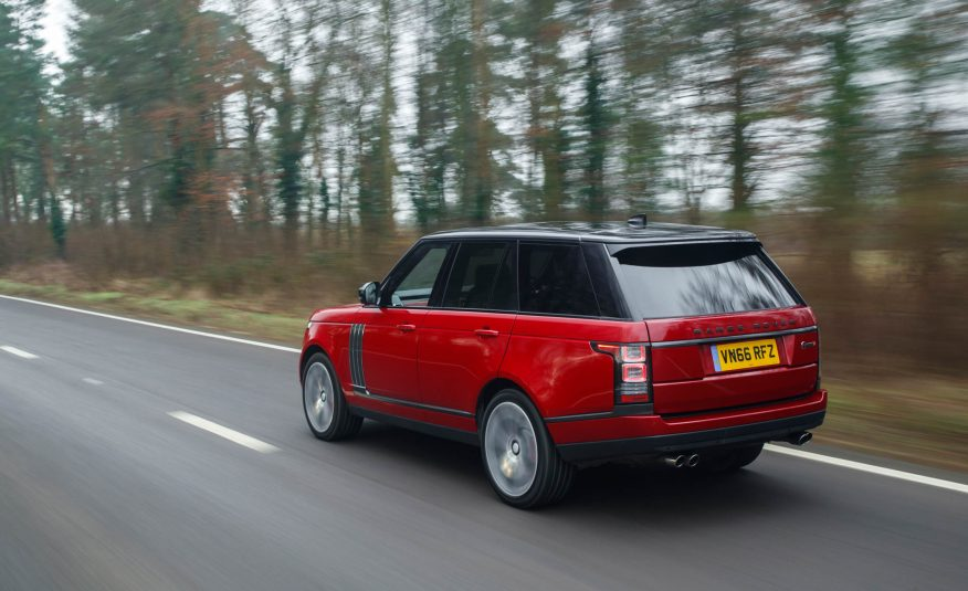2017 Range Rover SVAutobiography review back