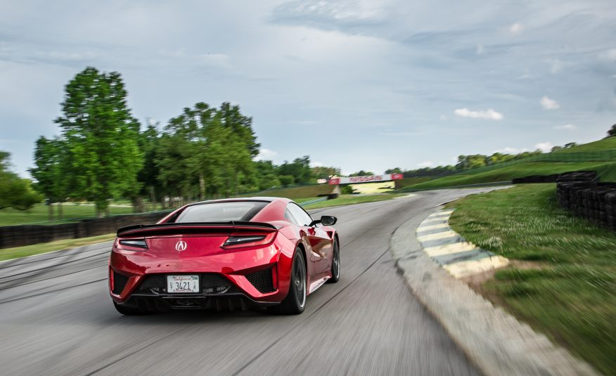 2017 Acura NSX Back