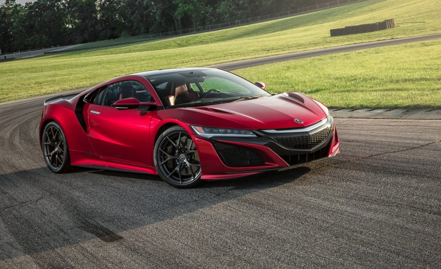 2017 Acura NSX Front View