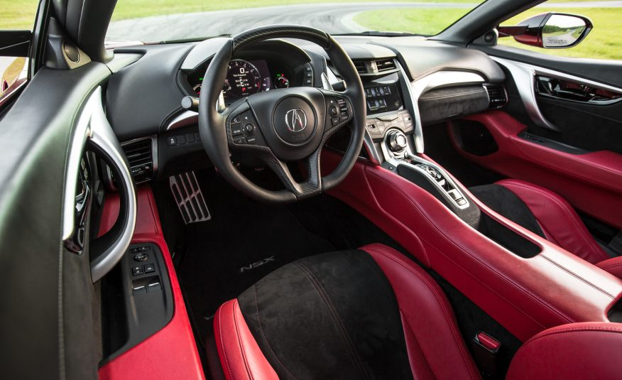 2017 Acura NSX Interior View