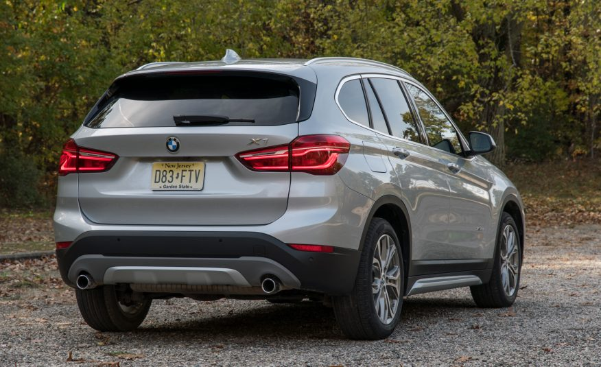 2017 BMW X1 Rear View